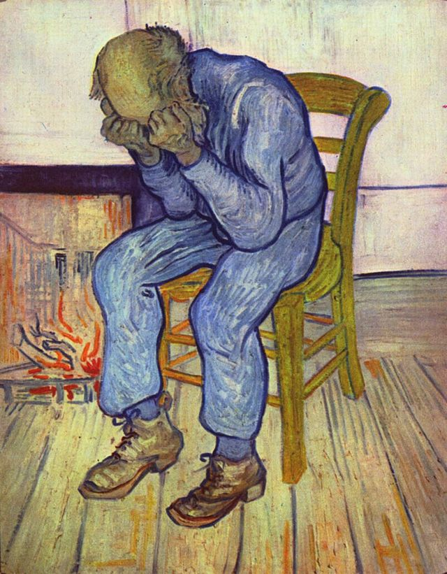 At Eternity's Gate by Vincent Van Gogh
